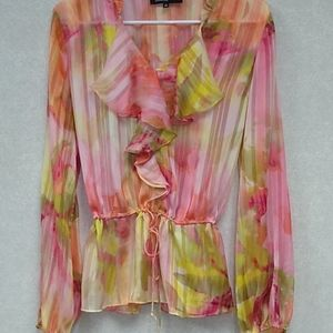✅Jones  New York Collection, size 10 blouse